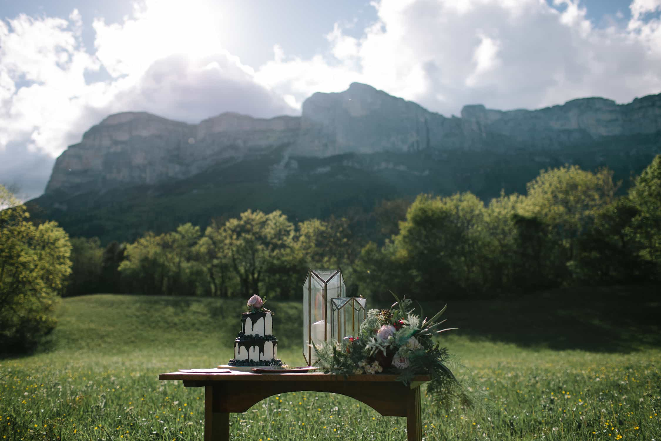 French Alps wedding - Elodie Davis