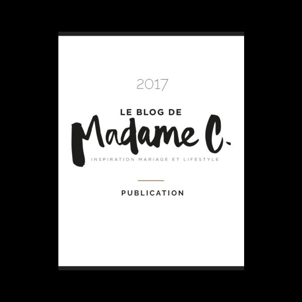 bloc de madame C shooting inspiration mariage