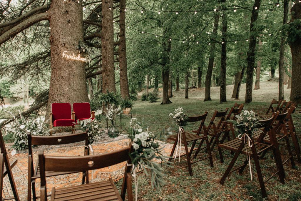 outdoor ceremony wedding planner