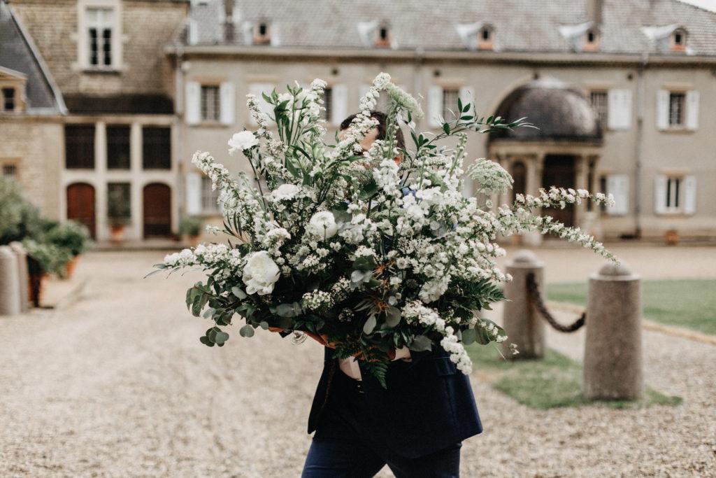 bouquet blanc mariage