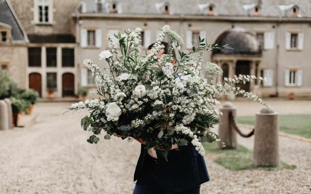 Camille & Mathieu – Un mariage végétal et moderne en Rhône Alpes