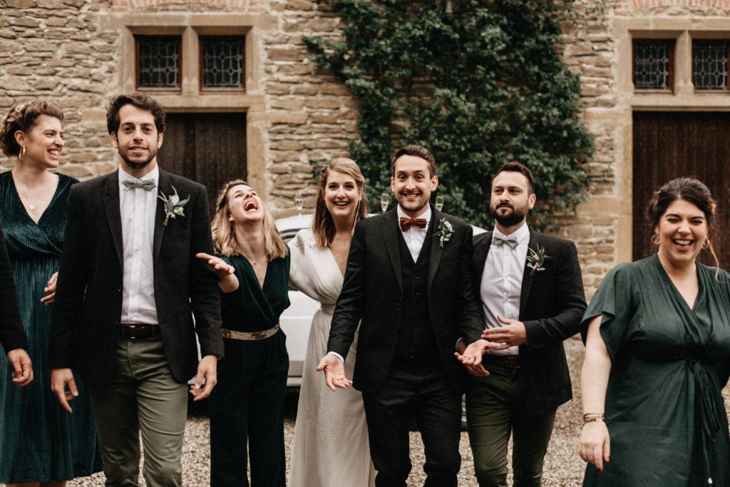 photos groupe mariage