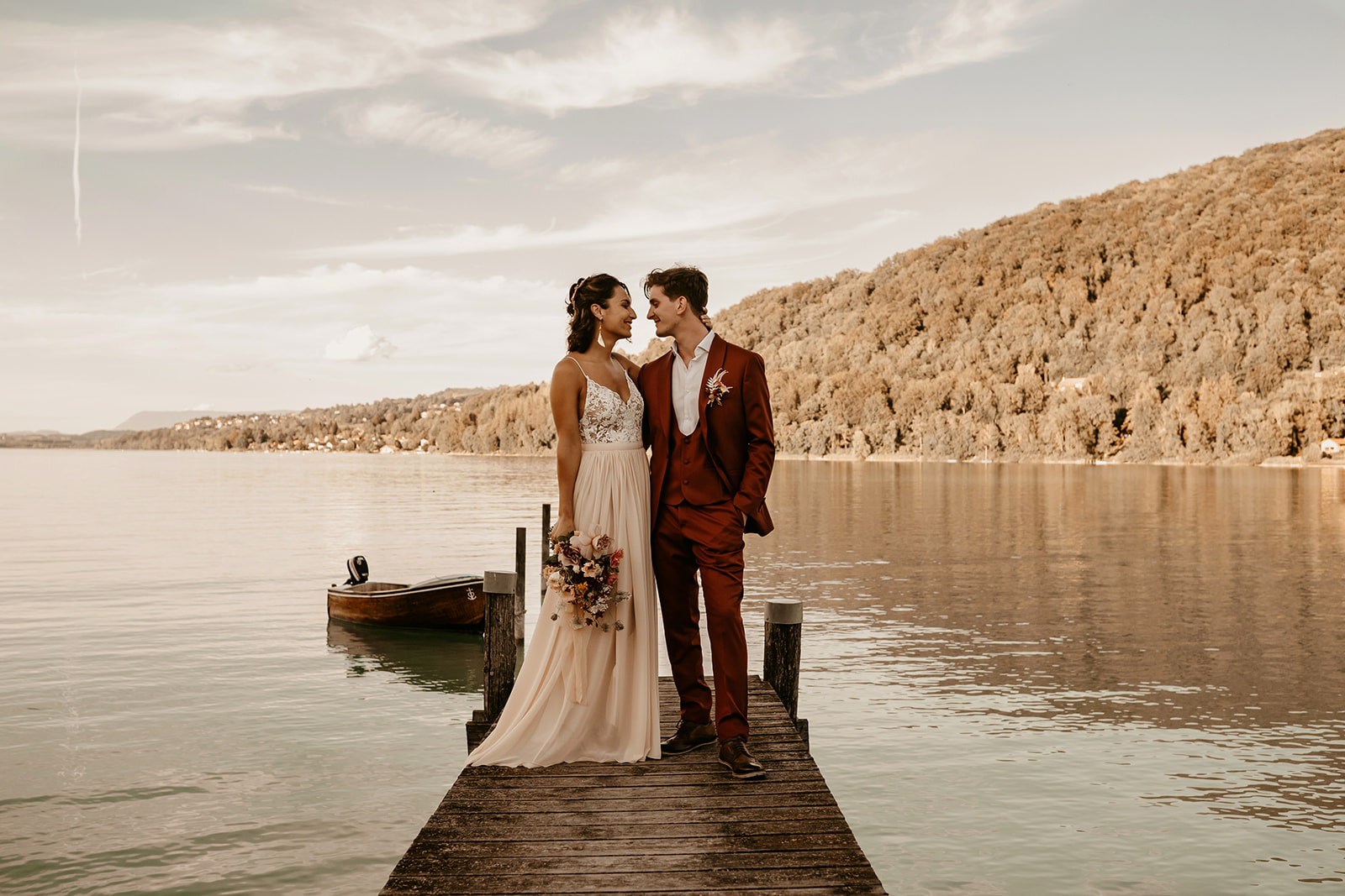 lake wedding france