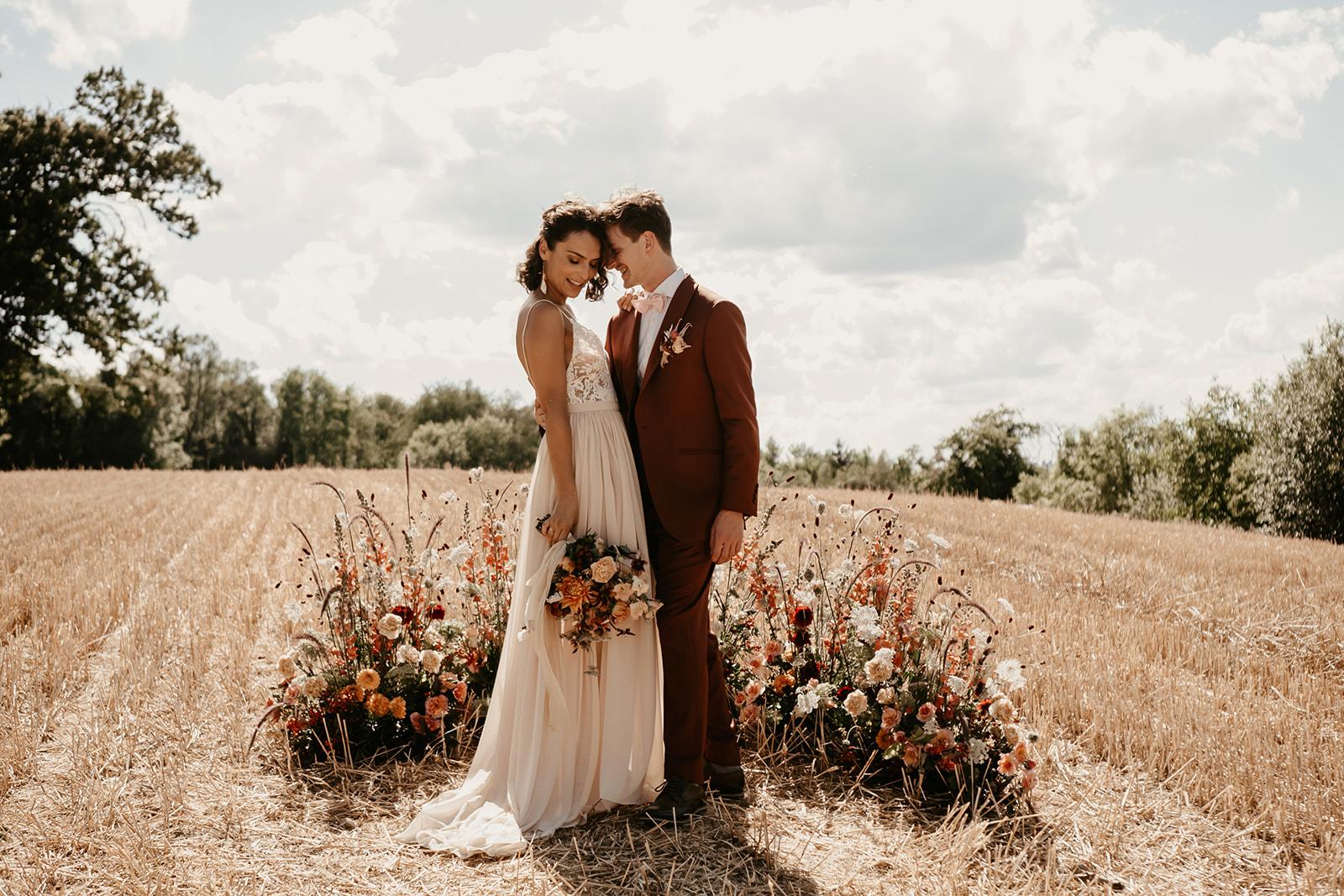 mariage bohème isère