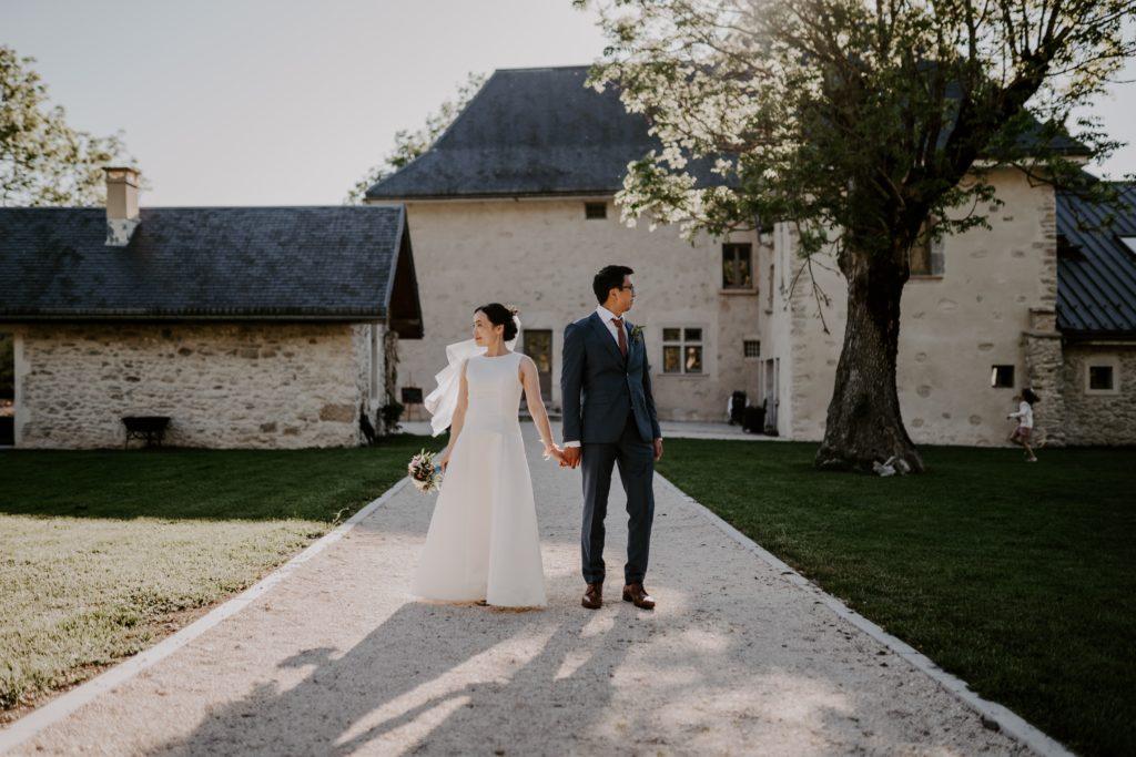 international wedding french alps